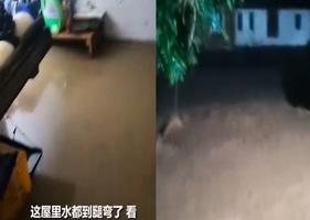 浙江諸暨市遇最強降雨 洪水致2死2失蹤