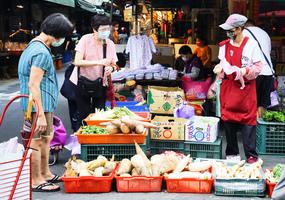 台灣6月CPI年增率回落至1.89%