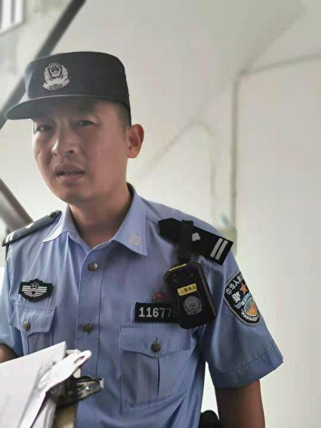 派出所警察稱是政府行為,管不了。(受訪者提供)