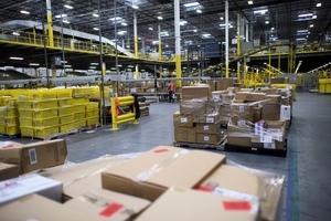 感染中共病毒員工陡增 亞馬遜暫關閉新澤西配送倉庫