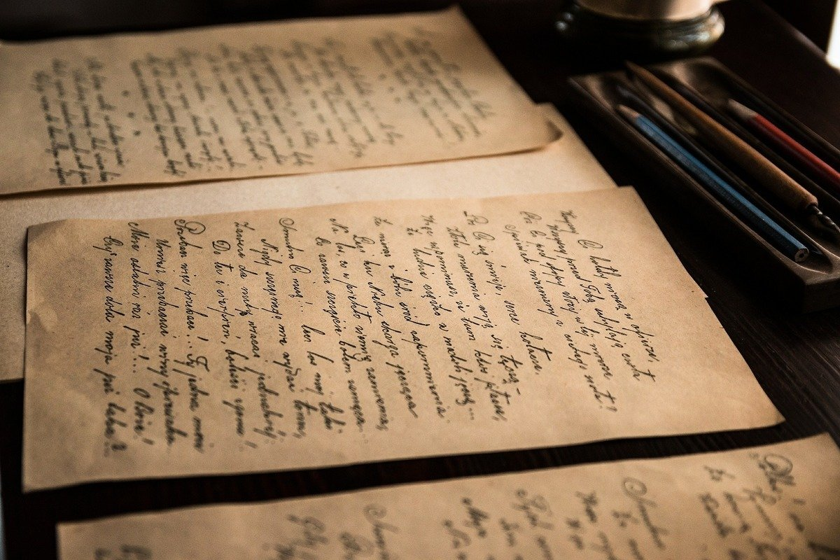 美國一名韓戰老兵寫給父母親的上百封家書,在歷經大約70年後回到其親人的手中。圖為一些舊信件,與本文無關。(Pixabay)