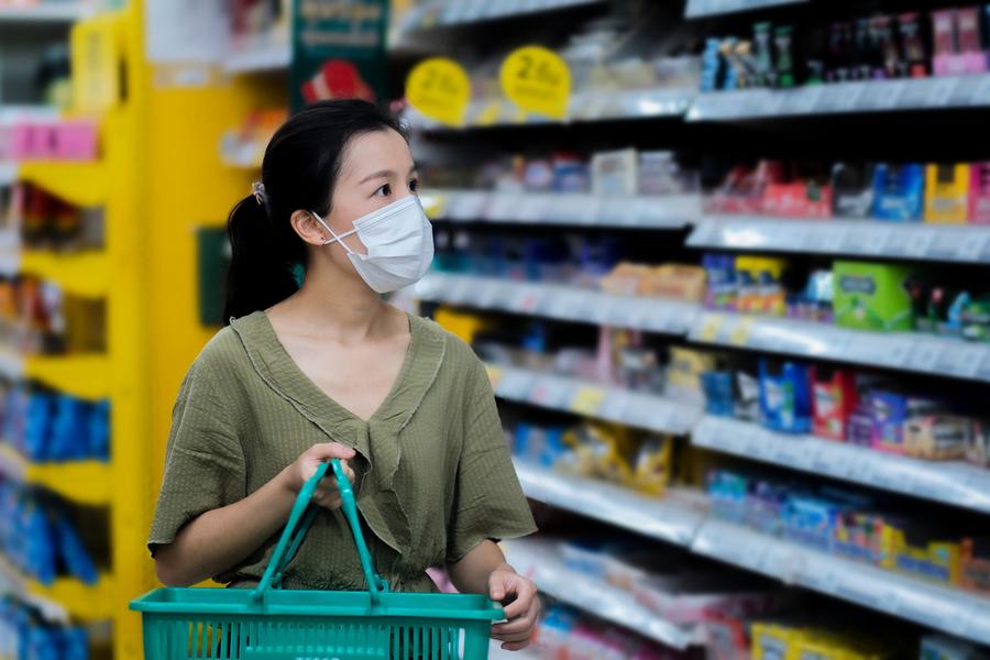 中共病毒疫情緩解後 超市和雜貨店購物或有五大變化