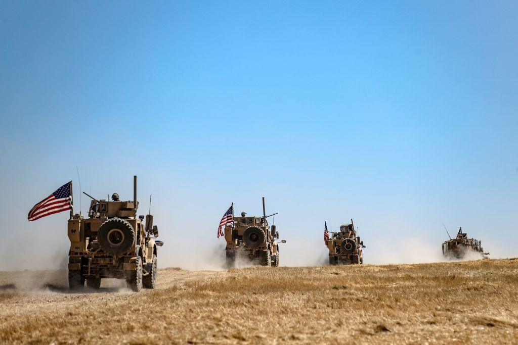 圖為美國陸軍部隊。(DELIL SOULEIMAN/AFP/Getty Images)