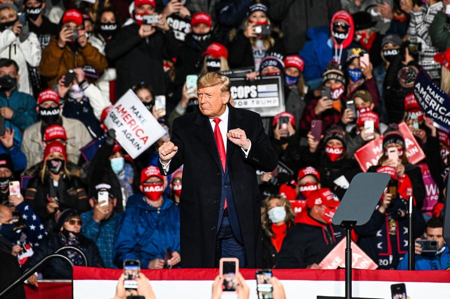 【特朗普集會】選民:美不會成為社會主義國家