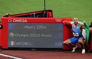 東奧8.1 男子百米決賽 意大利飛人雅各布斯封王