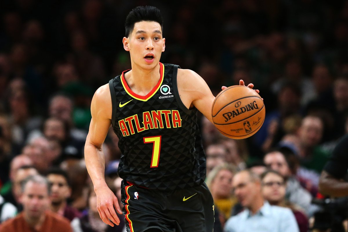 台族NBA球星林書豪(Jeremy Lin)資料照。(Maddie Meyer/Getty Images)