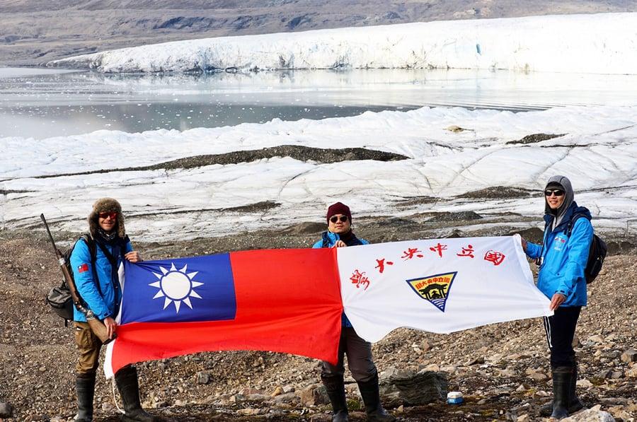開啟台灣研究新頁 中央大學探索隊前進北極圈