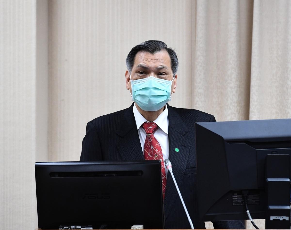 台灣國安局長陳明通1日表示,「中共謀我日急」,呼籲民眾不要對中共心存幻想。(中央社)