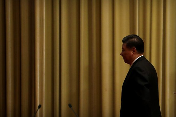 1月2日,中國國家主席習近平發表對台灣講話。他強調,秉持一中原則,台灣同胞就能受益;並重提堅持「一國兩制」。(Mark Schiefelbein-Pool/Getty Images)