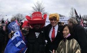 親歷華府遊行 華人:我們要守護美國
