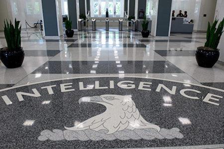 美國中情局位於維珍尼亞州的總部。(SAUL LOEB/AFP/Getty Images)