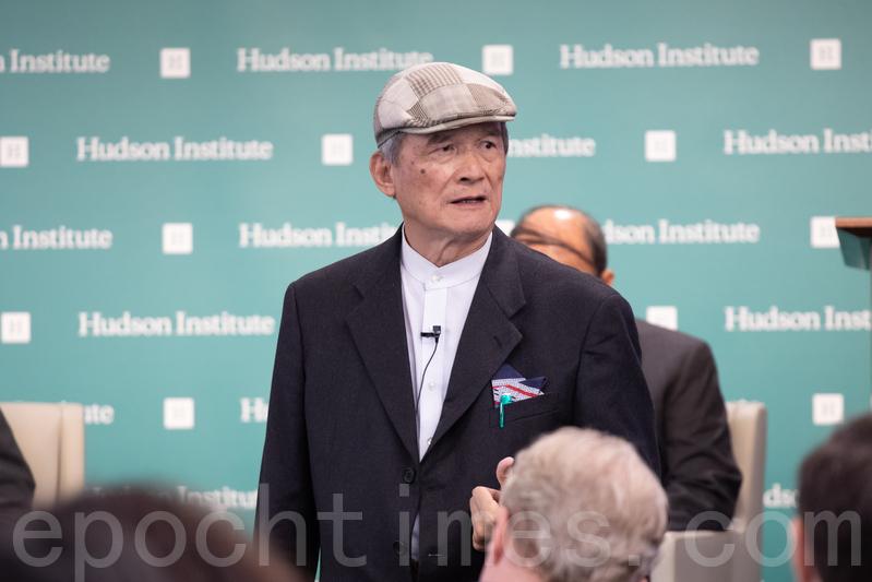 台灣前國防部長訪華府 籲美修改對台方針