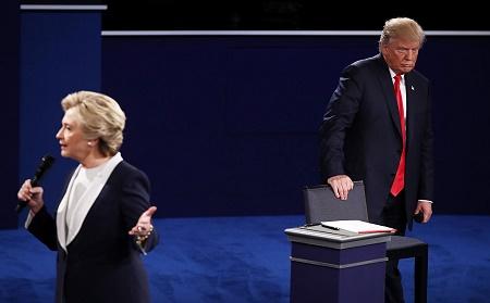 最後辯論將至 特朗普要求同希拉莉一道藥檢