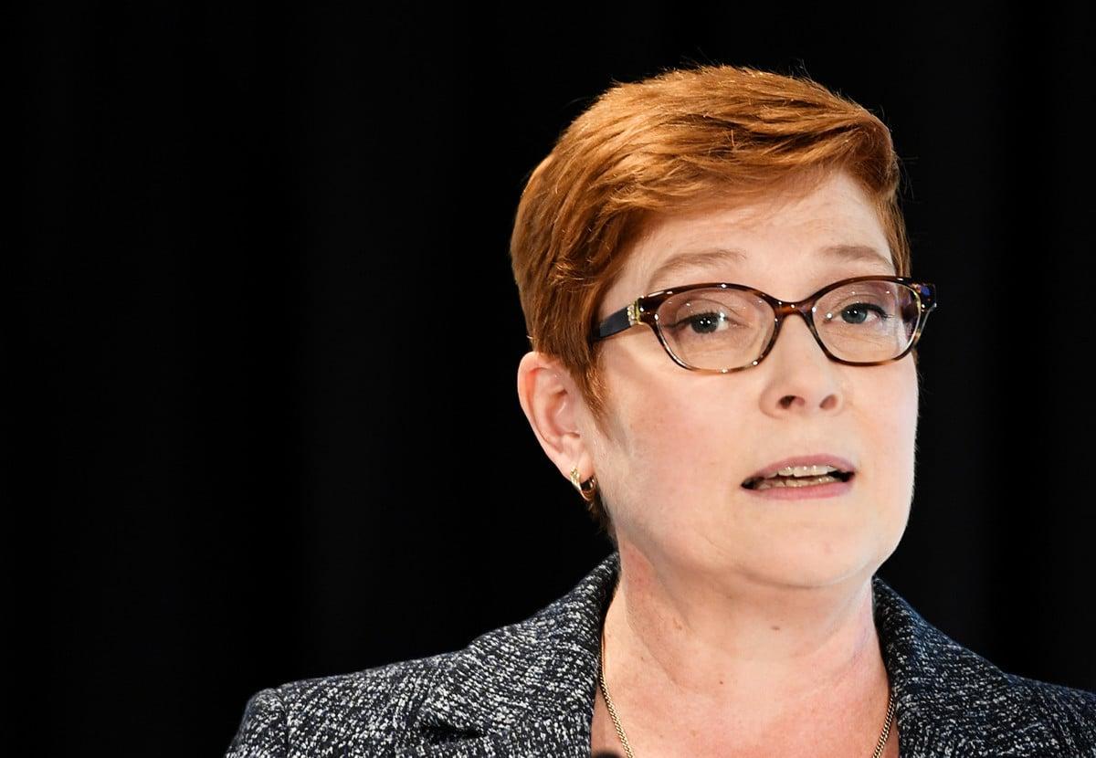 澳洲外長佩恩(Marise Payne)11月14日表示,澳洲政府對香港警民衝突不斷升級「深表關切」。(Getty Images)4