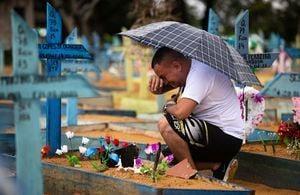 武漢肺炎全球死亡人數逾四百萬 東奧在即當地第四度進入緊急狀態