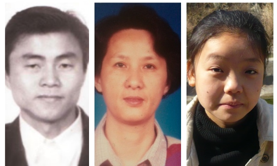 (從左至右)被迫害致死的法輪功學員許光臨和崔海以及被非法判刑4年的蔣立宇。(大紀元合成圖)