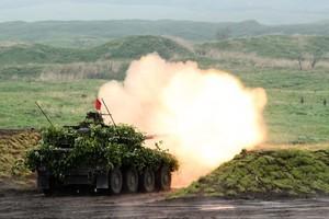 牽制中共 日本舉行28年來最大軍事演習