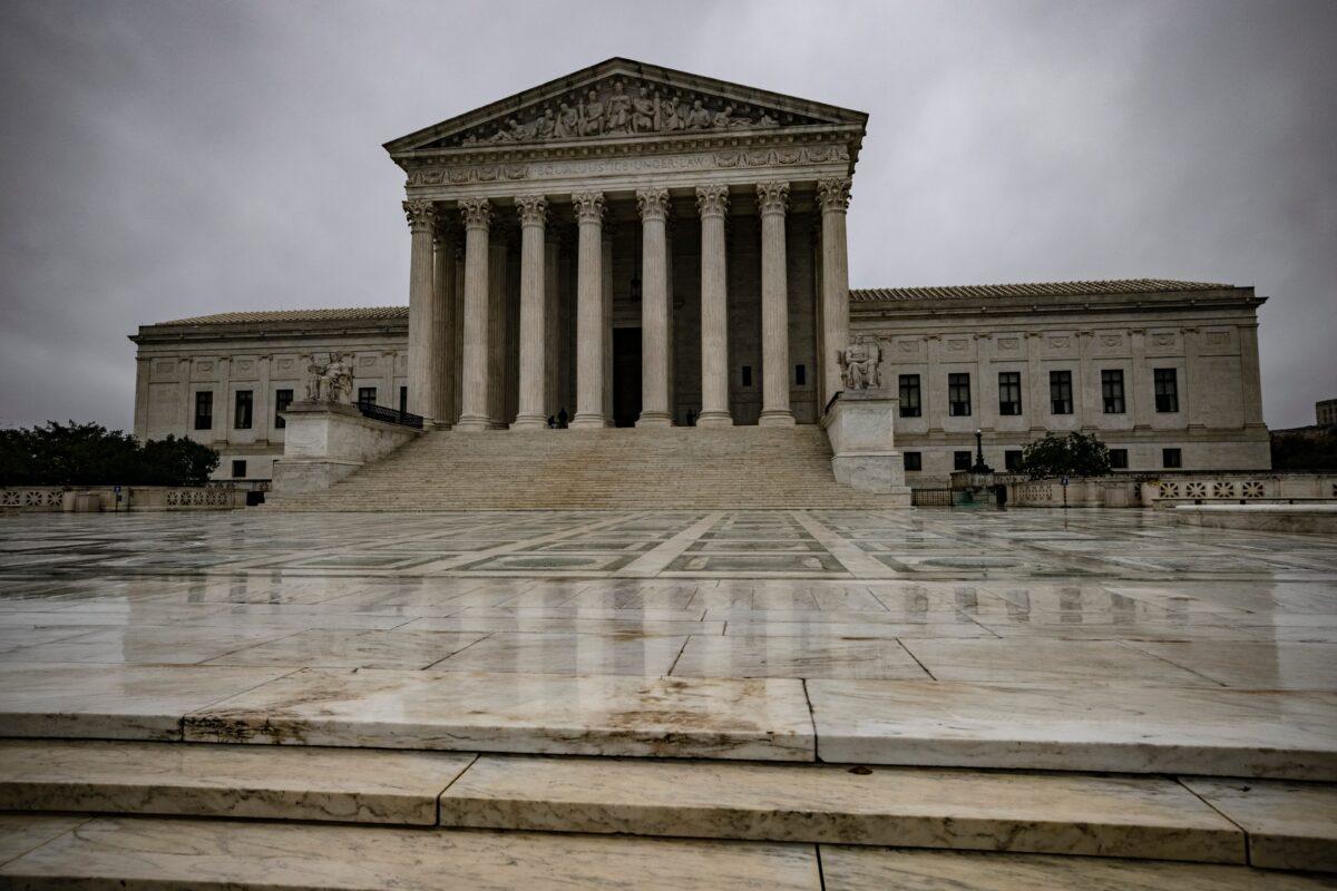 華盛頓國會山的最高法院。(Samuel Corum/Getty Images)