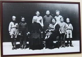 蔣介石教子 言傳兼身教
