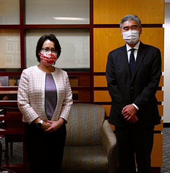 蕭美琴會亞太助卿 美國務院:深化與台灣關係
