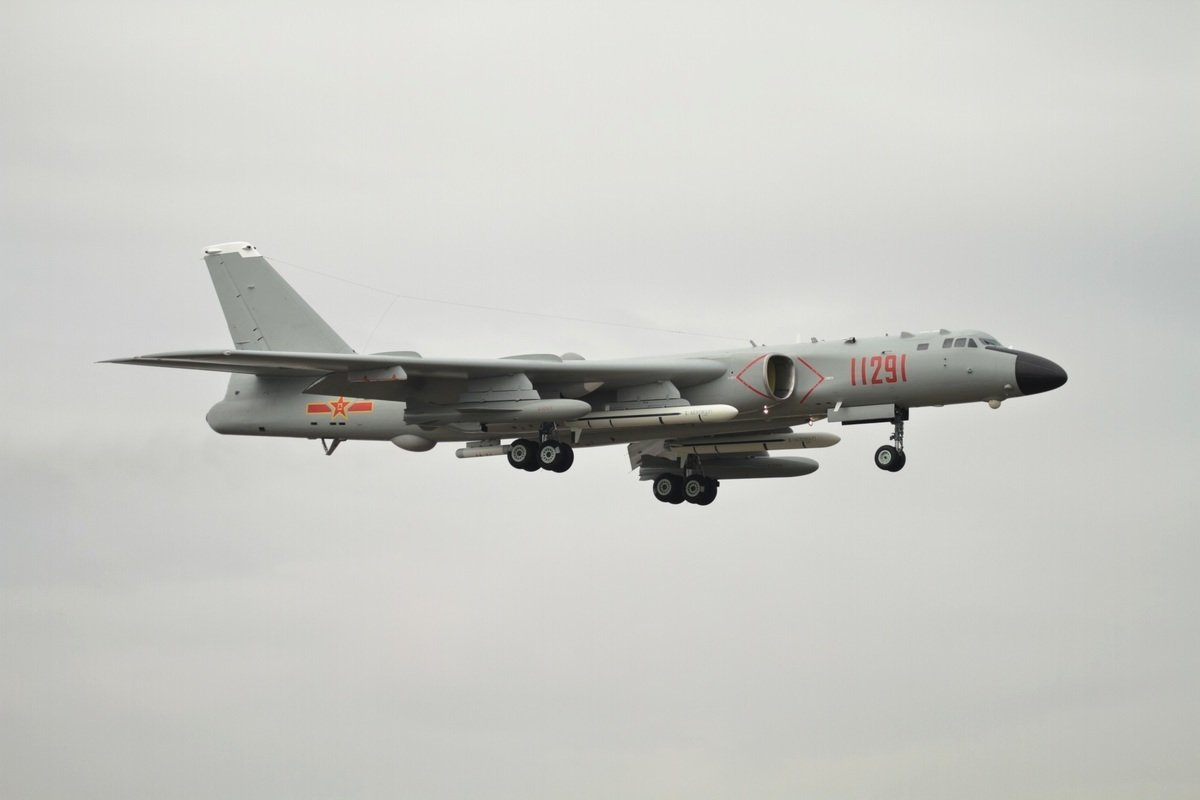 圖為中共轟6轟炸機。(Alert5/維基百科)