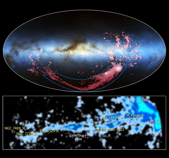 麥哲倫星流形成之謎歷時半世紀 科學家破解