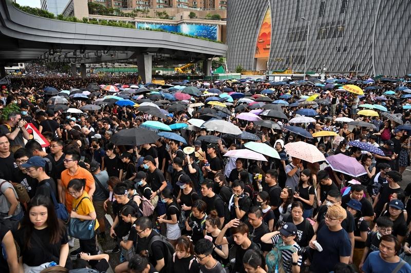 【7.7反送中組圖】逾23萬港人反送中 人潮擠爆九龍