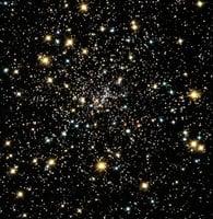 太空奇異現象:球狀星團驚現大群小型黑洞