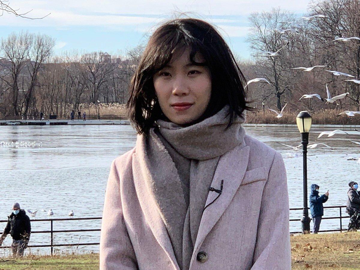 賓夕凡尼亞州州立大學新聞系華裔學生李曉華堅持真實報道,感動了「左派」教授,她報道特朗普演講的工作獲得全班最高分,而且教授還要發給白宮。(林丹/大紀元)