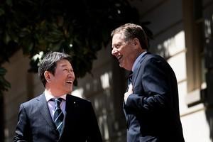 美日9月前簽署貿易協定