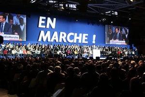 法國政壇新星人氣旺 集萬五支持者造勢