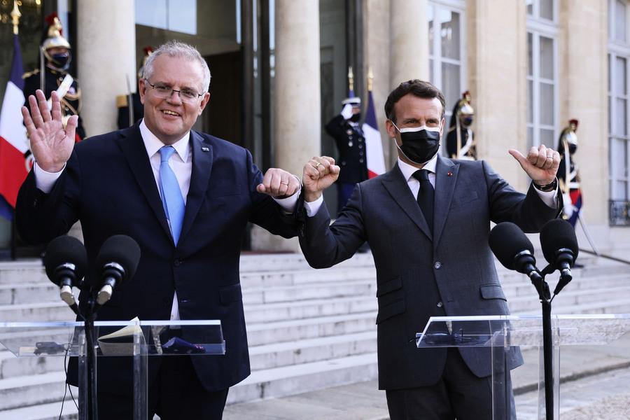 澳總理抨擊中共破壞國際秩序 籲全球反制