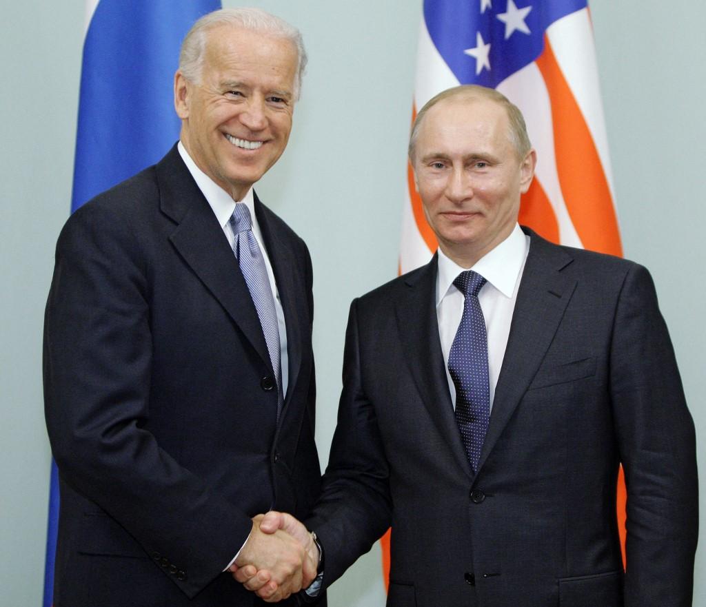 白宮2021年5月25日表示,祖拜登(Joe Biden)總統將於6月16日,在日內瓦與俄羅斯總統弗拉基米爾‧普京(Vladimir Putin)會面。資料圖 (ALEXEY DRUZHININ/POOL/AFP)