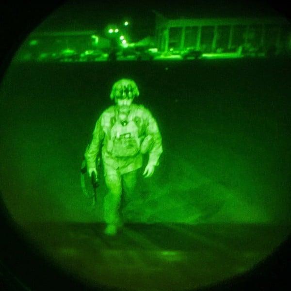 20年戰爭結束 最後離開阿富汗的美軍是誰