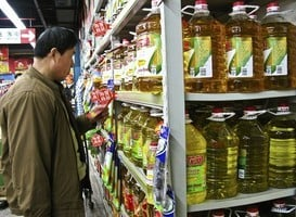 大陸三大食用油價格持續上漲