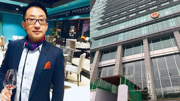 重慶企業家李懷慶的律師已向檢察院指控警方構陷罪名,並要求該案二審依法公開審理。(推特圖片)