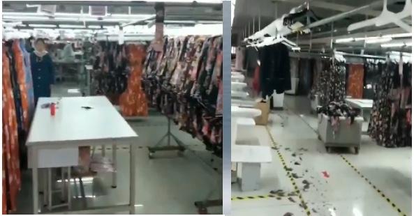 【現場影片】工廠剛復工再放假三個月