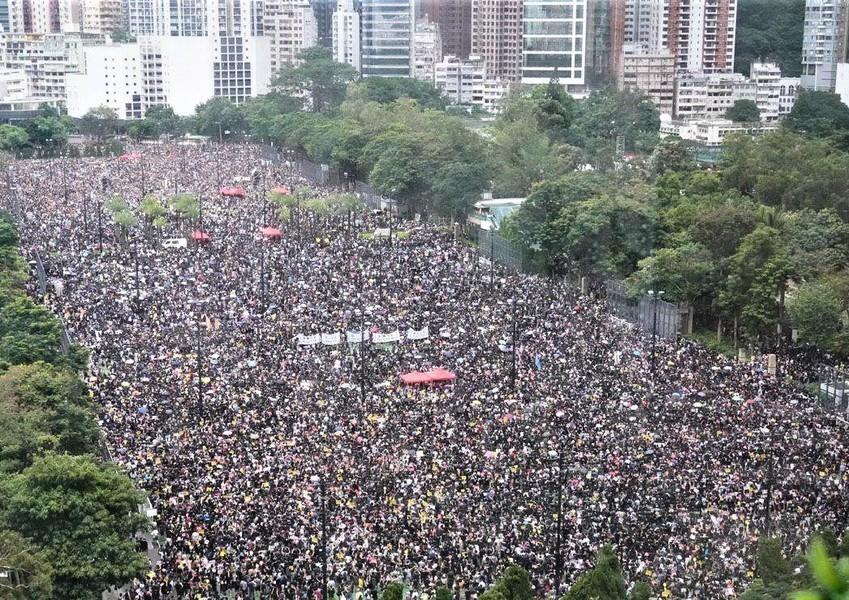 高天韻:170萬港人和平集會 展示六大真相