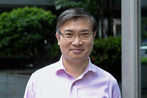 台灣香港協會理事長桑普。(大紀元資料圖片)