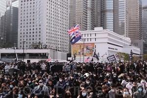【1.12直播】3.6萬人參加愛丁堡廣場集會