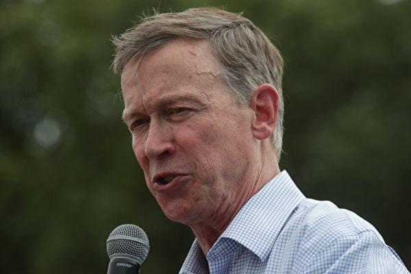 11月3日,前科羅拉多州長希肯洛珀(John Hickenlooper)挑戰成功,為民主黨贏得參議院一席。( Alex Wong/Getty Images)