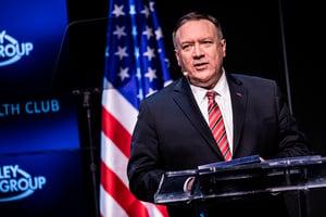 蓬佩奧:美國恢復威懾戰略 對抗中俄伊朗