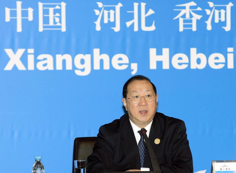 中共財政部前部長金人慶死於火災