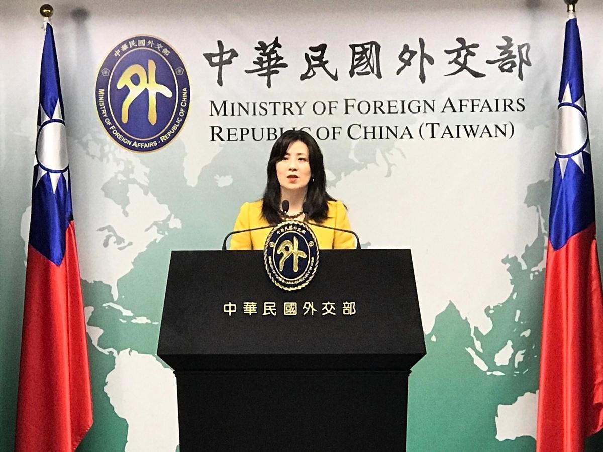 中華民國外交部發言人歐江安,資料照。(大紀元圖庫)
