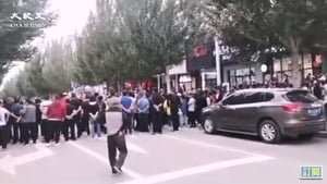 拒絕中共滅絕文化 內蒙古1.8萬民眾聯名抗議