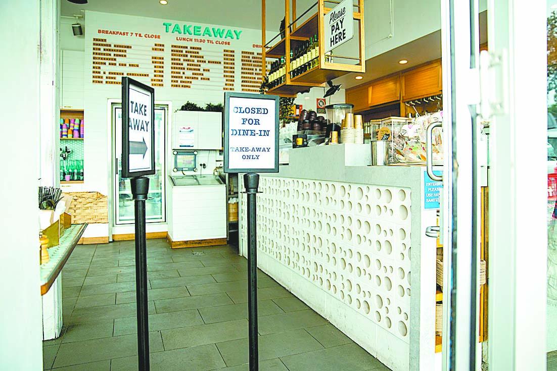民調顯示,澳洲人對中共肺炎(俗稱武漢肺炎、新冠肺炎)疫情威脅的擔憂正在加劇。圖為關閉的商店。(Jenny Evans/Getty Images)