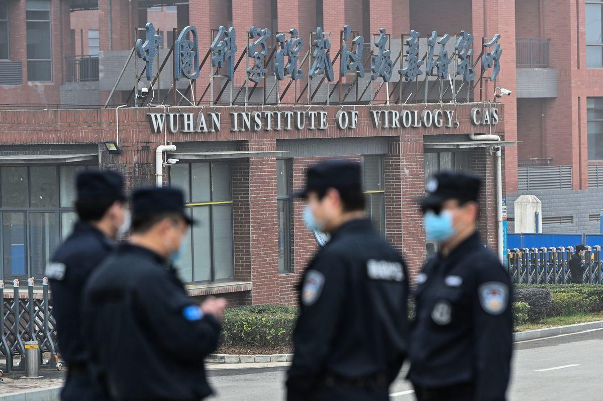 圖為武漢病毒研究所(Wuhan Institute of Virology)。(HECTOR RETAMAL/AFP via Getty Images)