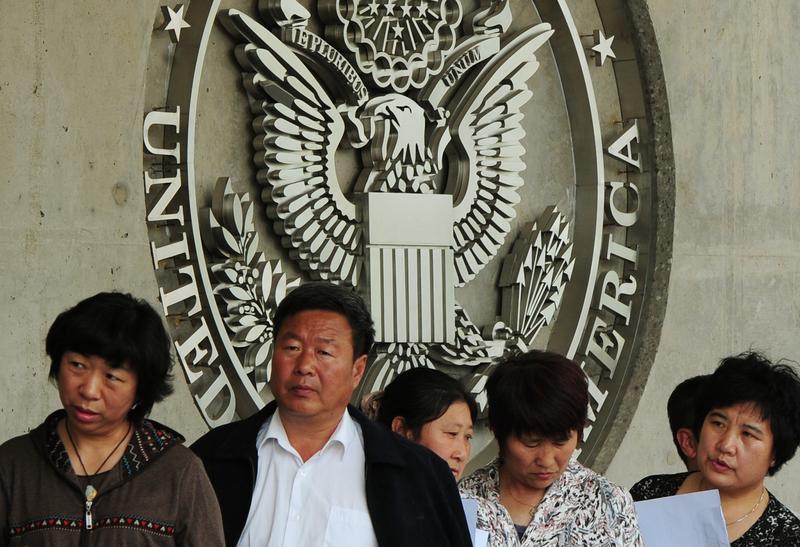 在中美緊張關係升溫之際,傳出中共黨員將被禁止入境美國,估計影響2.7億人。(Mark RALSTON/AFP)