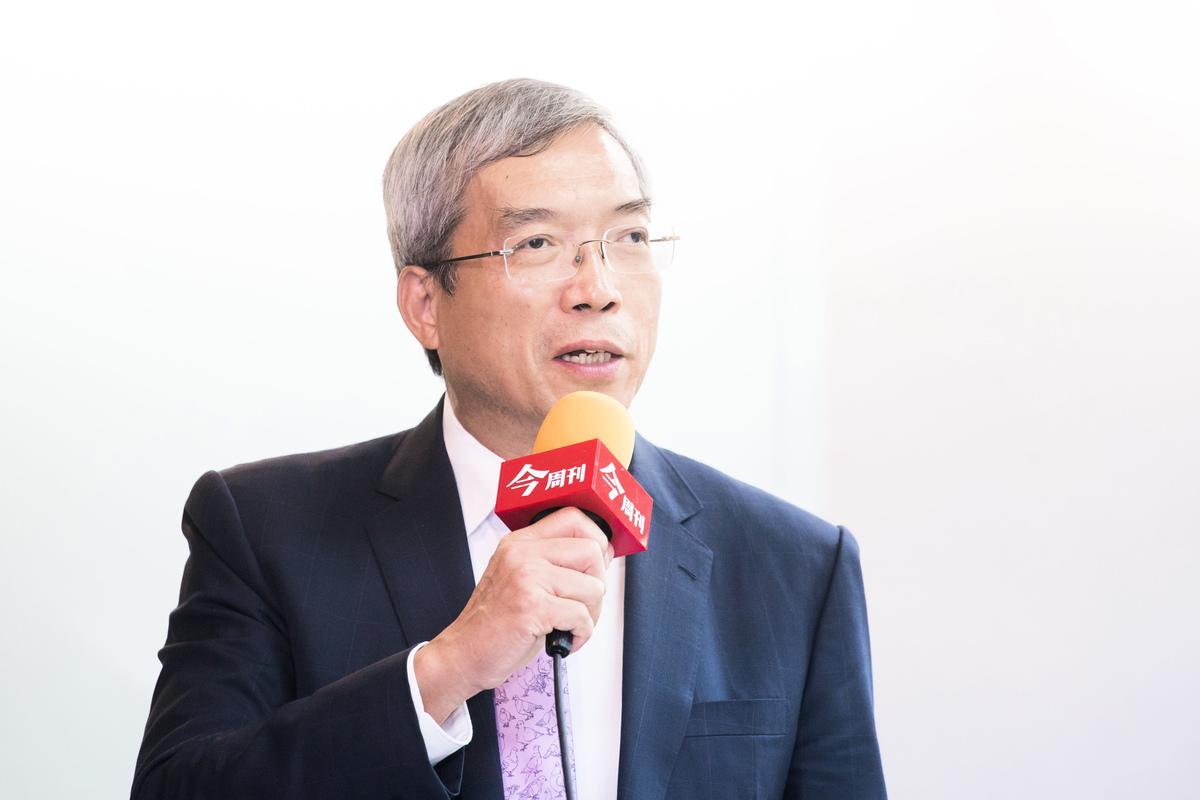 財信傳媒董事長謝金河,資料照。(陳柏州/大紀元)