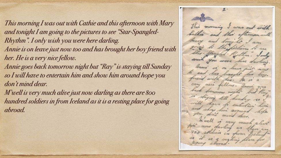 英國北約克郡一家海濱酒店進行裝修時,意外發現了二戰時期一對情侶多份手寫的情書。(Heritage Adventures Ltd和SAHS提供)